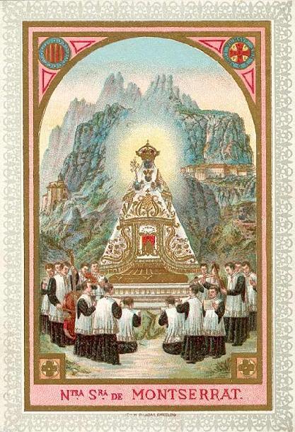 Imagen de una imagen de una Virgen sextoniana