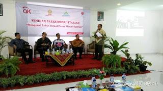 STIE Putra Bangsa Adakan Seminar Pasar Modal Syariah