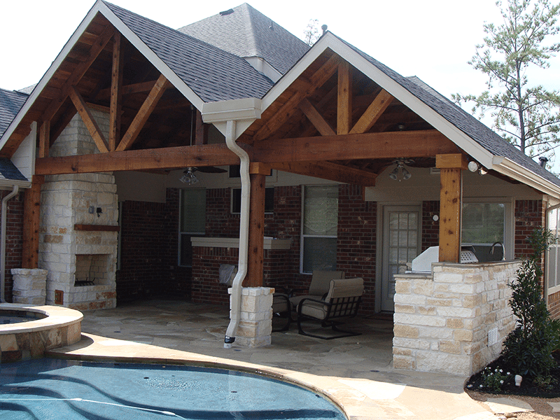 Custom Outdoor Patio Construction DFW 10