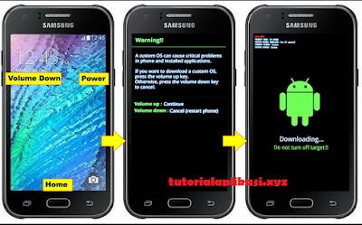 Cara flash Samsung Galaxy J1 SM-J100H