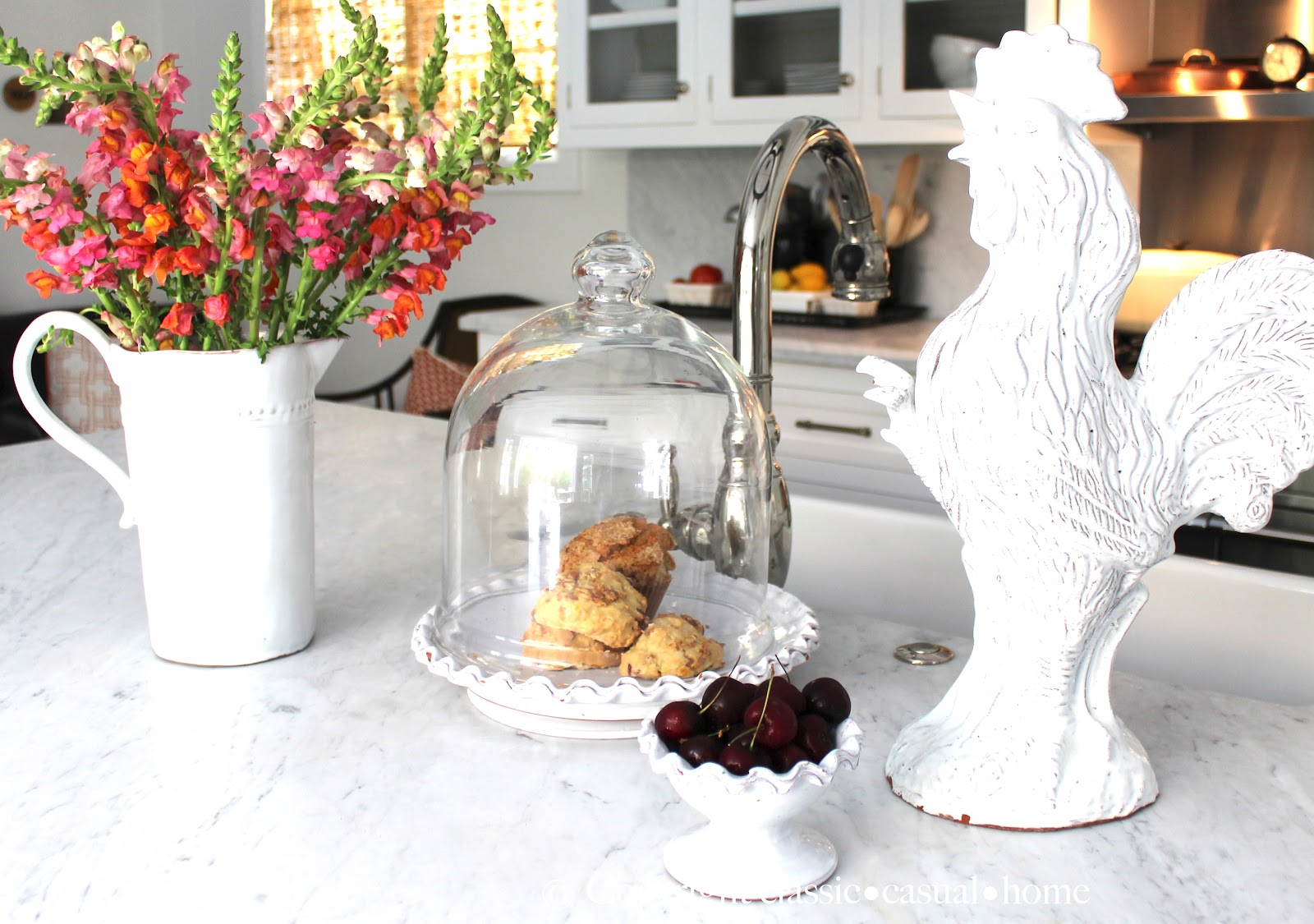 kitchen chicken decor compact appliances classic  casual home island décor and