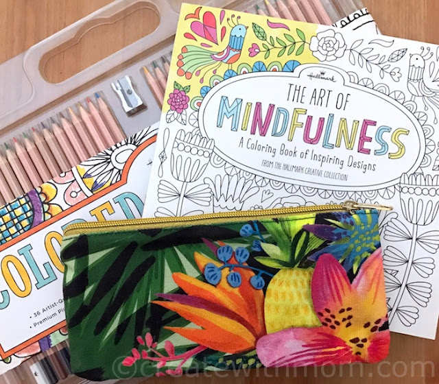 hallmark puzzles colouring book #lovehallmarkca