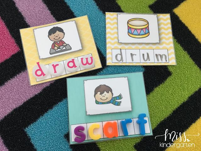 Letter Blend Practice Activities for Kindergarten