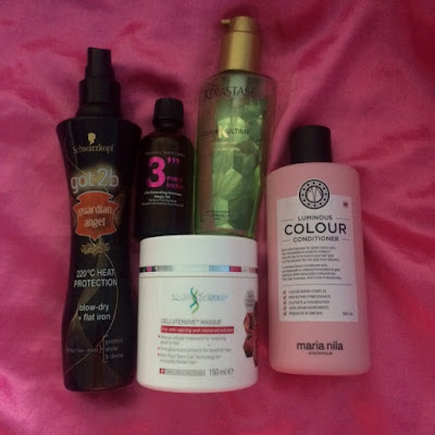 Beauty, Favourite Five, Hair, Kerastase, Maria Nila, Michael Van Clarke, Salon Science, Schwarzkopf,