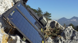 Camping Solar panel by Goal Zero
