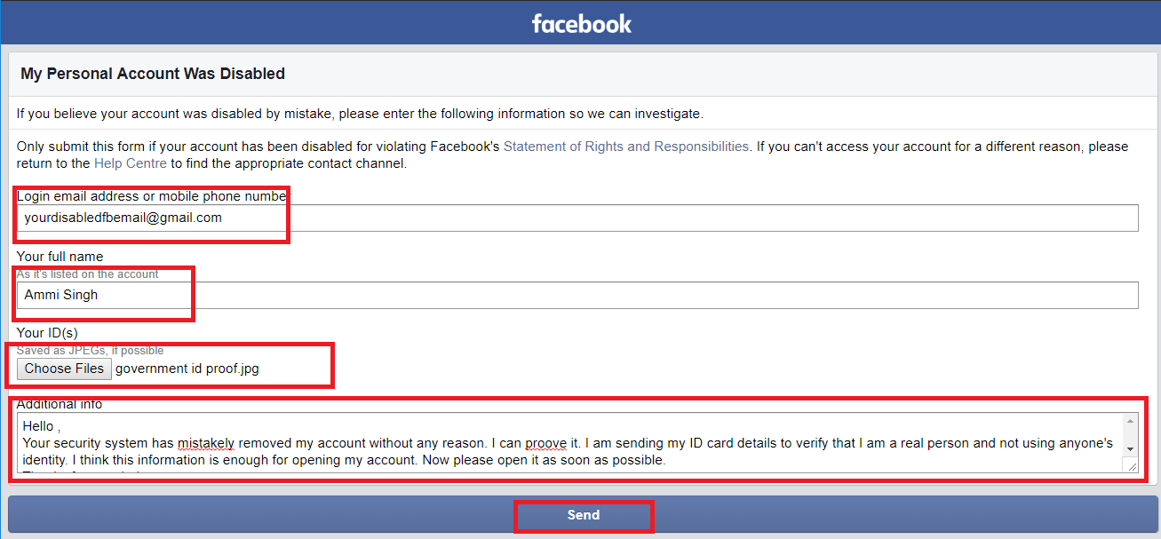 How To Open Disabled Facebook Account 2018 (New Trick)