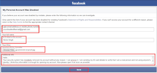 How To Open Disabled Facebook Account 2018 (New Trick), disable facebook account ko recover kaise kare, fb account ko open kare disable