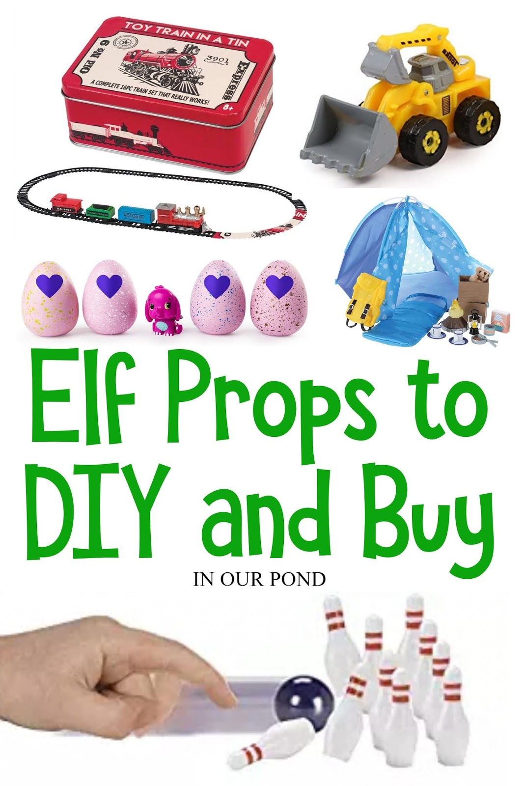Unofficial Elf Props To Diy And Buy In Our Pond