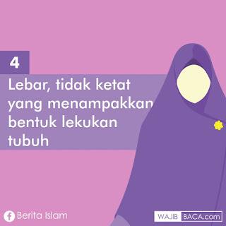 Syarat-syarat Hijab Syari yang Harus Muslimah Ketahui