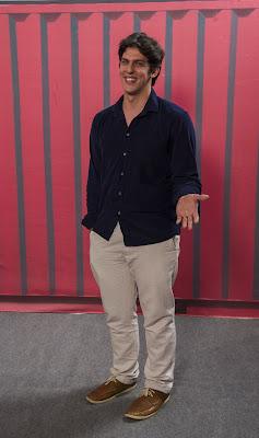 Rafael Infante viverá um galã de novela em 'Cine Holliúdy'! — Foto: Estevam Avellar/Globo