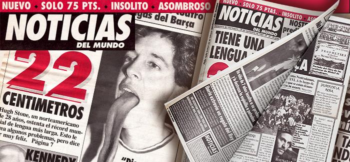 Periódico Noticias del Mundo Número 10 1994