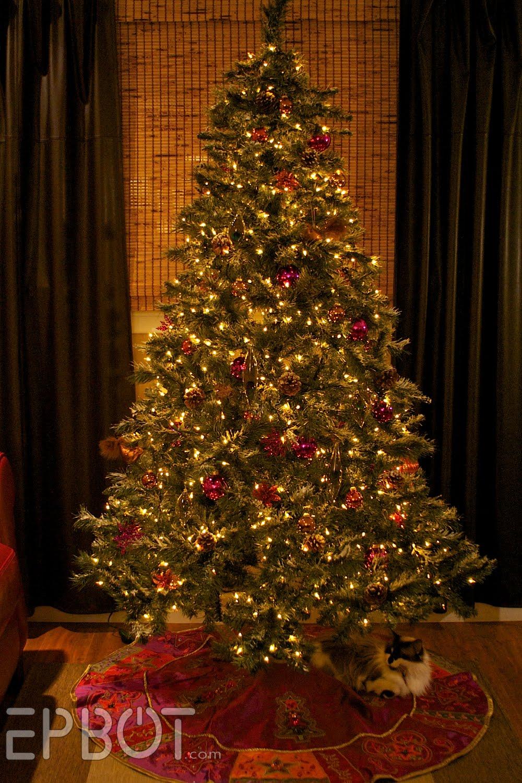 epbot my steampunk christmas tree
