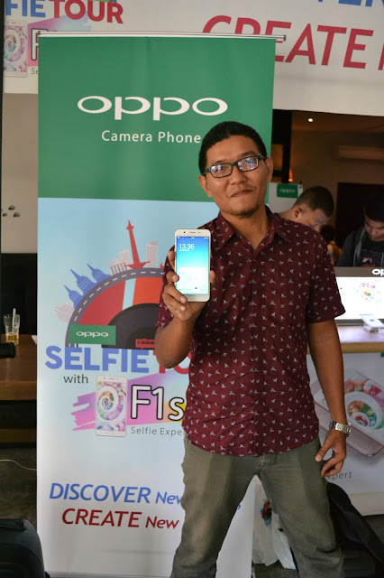 OPPO Selfie Tour 2017 With F1s Selfie Expert Di Pontianak