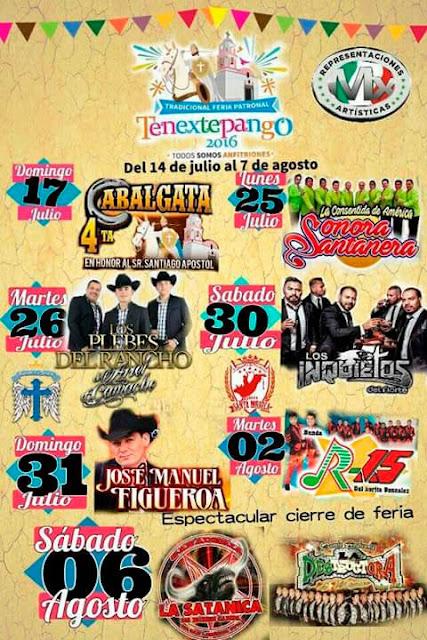 programa feria Tenextepango 2016