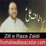 http://www.humaliwalayazadar.com/2018/03/zill-e-raza-zaidi-manqabat-2018.html