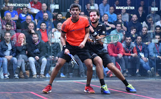Karim Abdel Gawad eighth Egyptian to the quarter-finals of the World Squash Championship