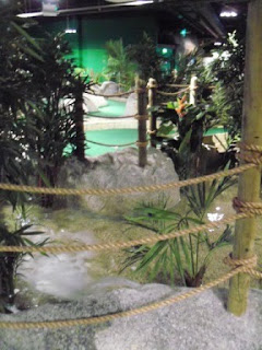 Jungle Rumble Indoor Adventure Golf course in Liverpool