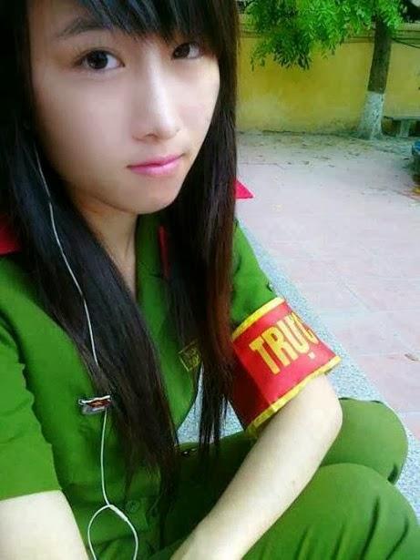 girl xinh công an nhân dân việt nam