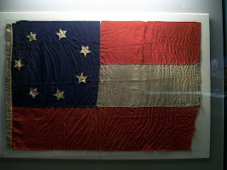 Confederate flag in the collection of the National Civil War Museum.