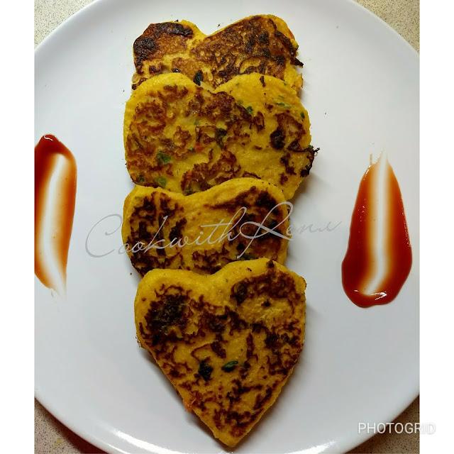 Non Fried Bread Pakoda