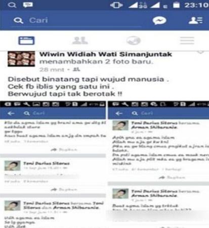 Nekat Tulis Status FB Menistakan Agama Islam, Pemilik Akun Ini Jadi Buruan Polisi