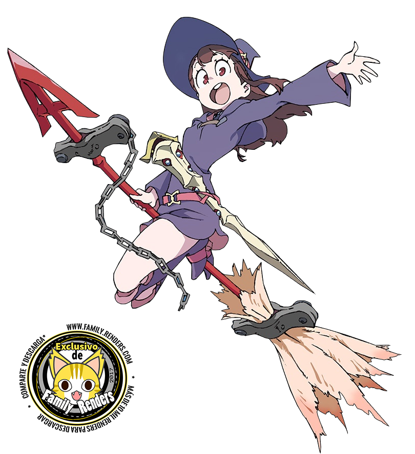 """render Atsuko """"Akko"""" Kagari"""