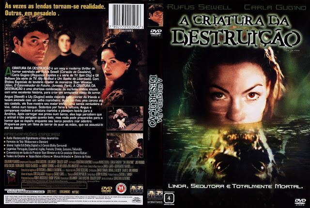 Capa DVD A Criatura da Destruição