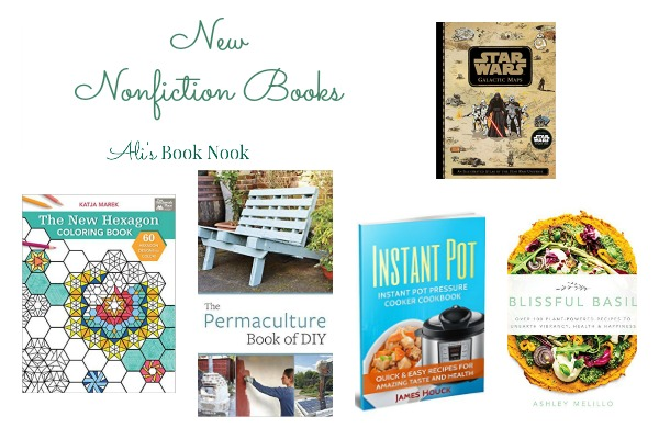 Newly Published nonfiction cookbooks coloring books DIY