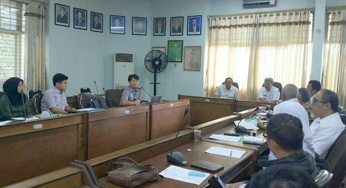 Tim  Kementerian LHK Verifikasi 4 Kelompok Tani Tangkit Tebak Way Waya
