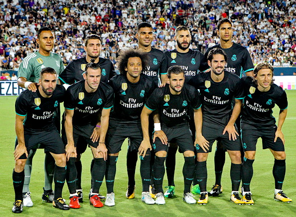 Resultat d'imatges de once real madrid 2017-2018