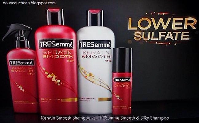 Coming in January  New TRESemme Keratin Smooth CollectionTresemme Keratin Smooth Commercial