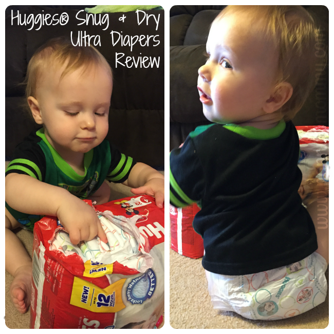 Huggies Snug and Dry Ultra Diapers Review