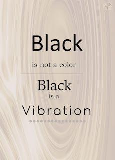 Black has no color