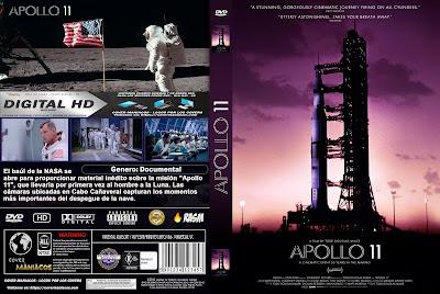 CARATULA APOLLO 11 - 2019 [COVER DVD]