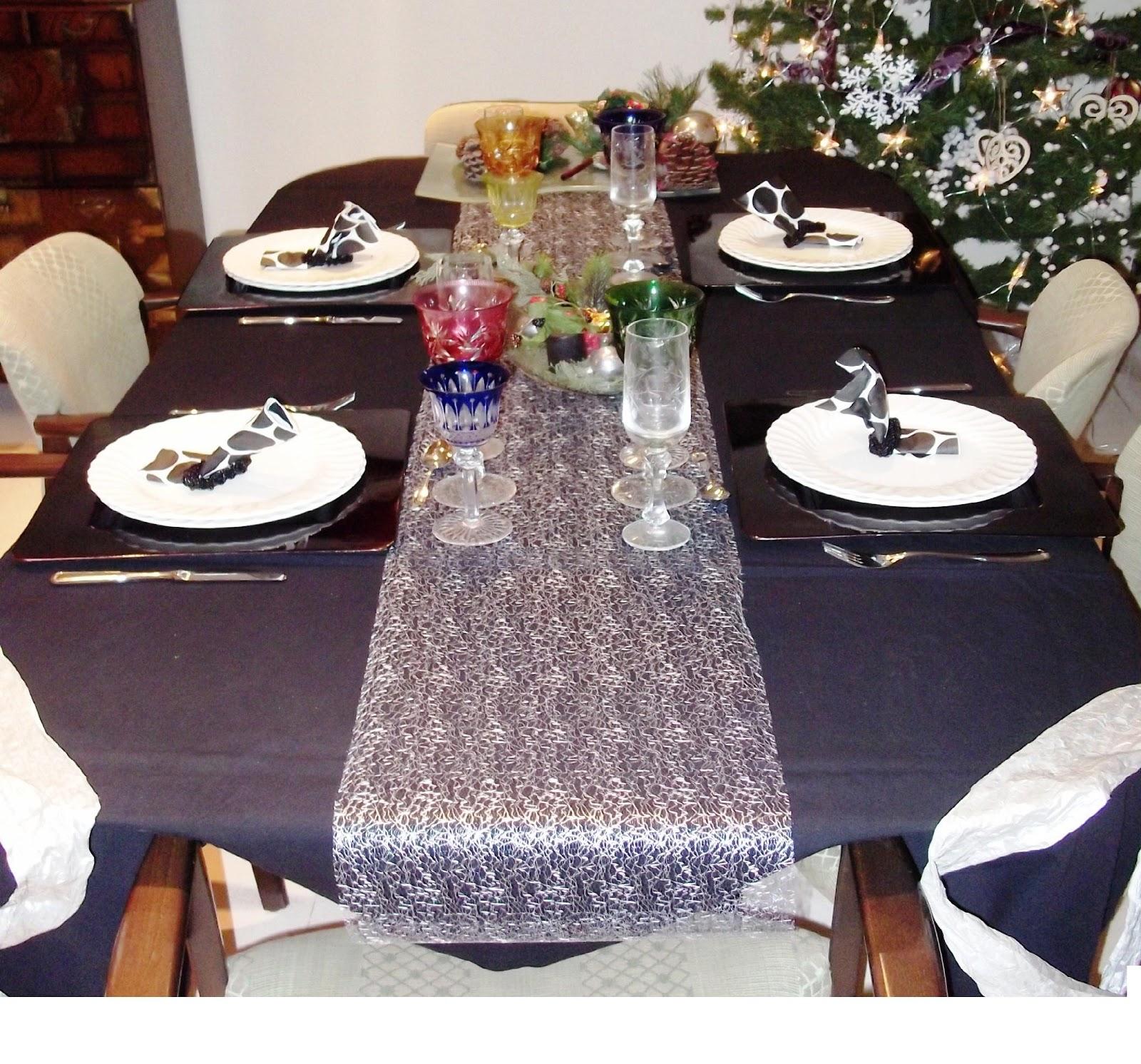 LA GUARIDA DE BAM: Mesas de Navidad