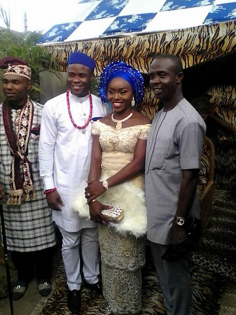 Photos from the traditional wedding of former Catholic priest, Patrick Henry Edet