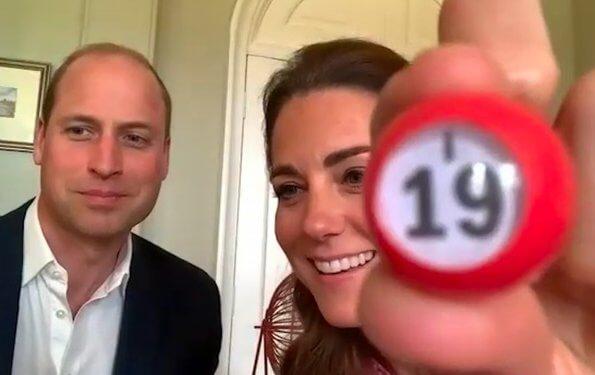 Kate Middleton wore L.K Bennett silk madison dress, Kate wore Catherine Zoraida Fern earrings. Meghan Markle