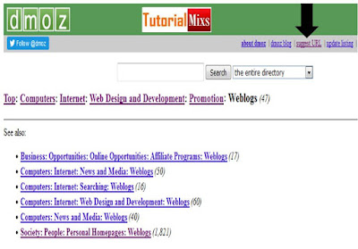 Submit Dmoz tutorial 2