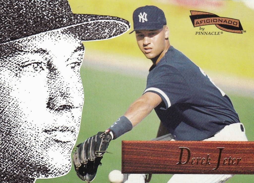 1996 Pinnacle Aficionado Derek Jeter New York Yankees