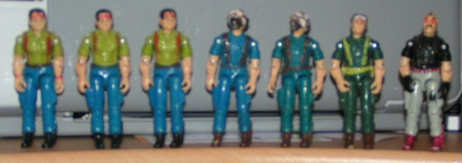 European Force, MyGal, Bootleg, European Exclusive, France, Eclair, Tonnerre, Acarie, MyGal, Scorpion, Thomis, Randon, Le Colonel, Longe Vue, Commando, Mains Dacier, MOC, Rare, G.I. Joe Bootleg, Knock Off