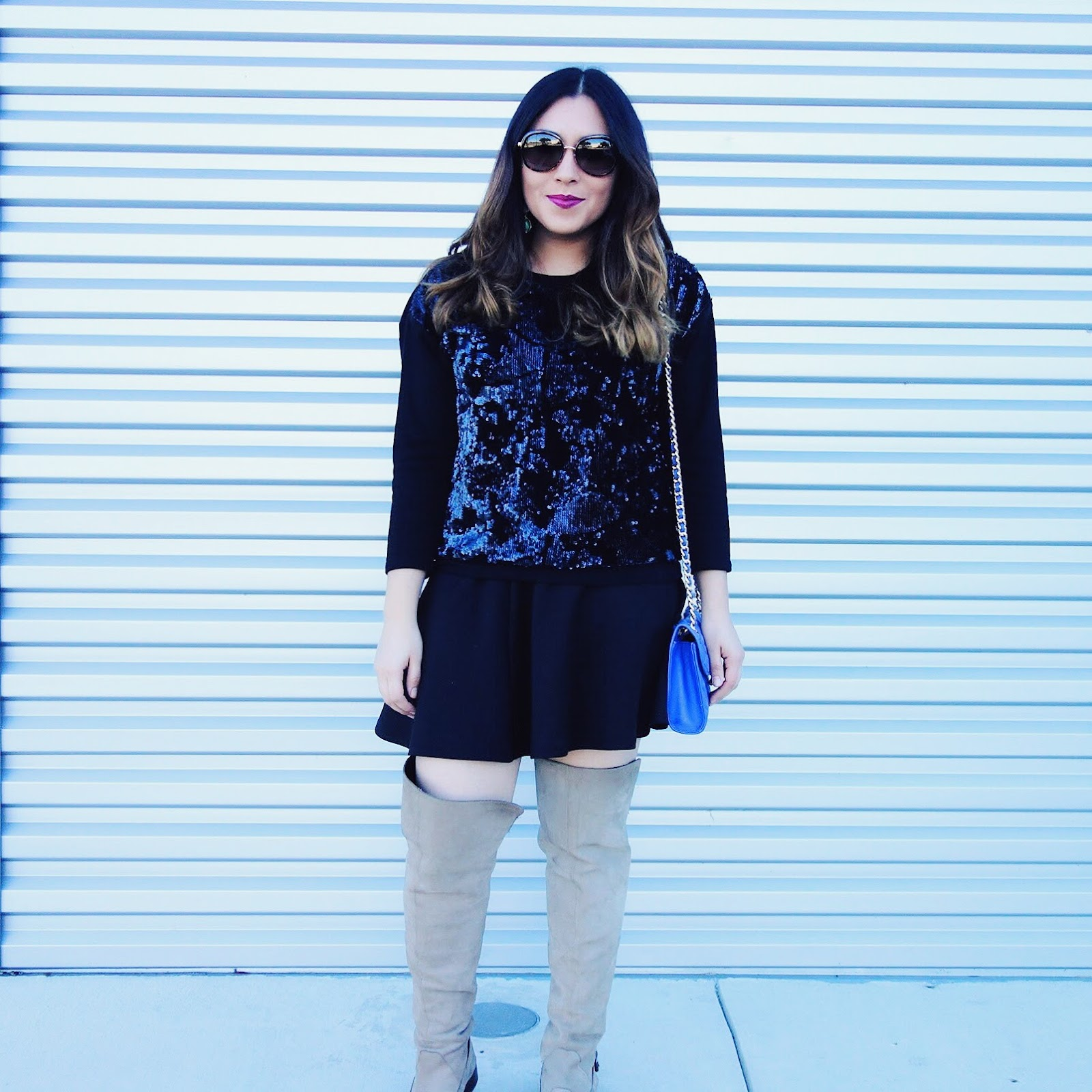 featured, sequins for brunch, sequins, day time outfit, street style, casual