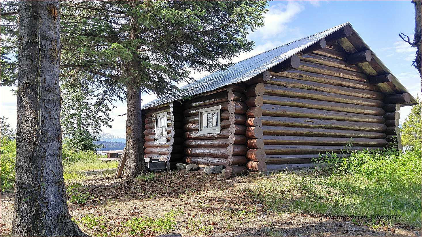 Houston British Columbia Forest Service Cabin Mcbride Lake