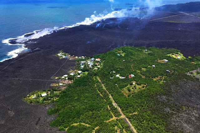 Hawaii's Kilauea Volcano Has Created 250 Acres of New Land