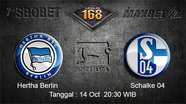 PREDIKSIBOLA - PREDIKSI TARUHAN BOLA HERTHA BERLIN VS SCHALKE 04 14 OCTOBER 2017 (BUNDESLIGA)