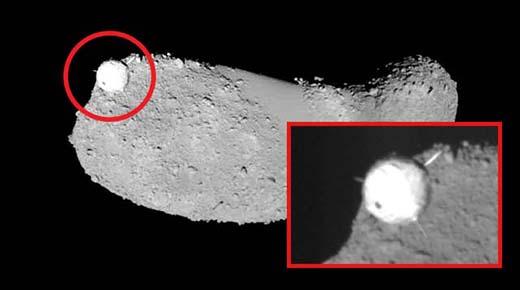 Satélite alienígena es captado orbitando asteroide