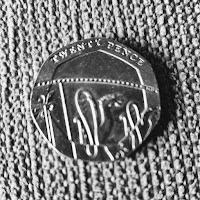 UK 20 pence piece