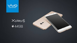 spesifikasi Vivo Xplay 6 Dengan Kamera Sony IMX362 F/1.7