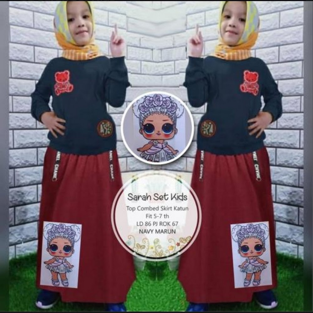 jual sarah set kids
