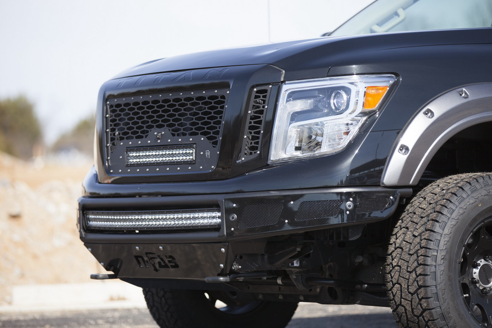 Bumper Guard For Suv >> Nissan Motorsports Bringing Angry Titan XD Pro-4X At The ...