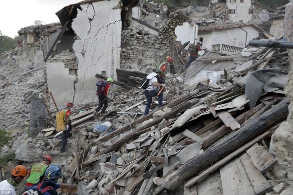 Στους 278 οι νεκροί από τον σεισμό στην Ιταλία
